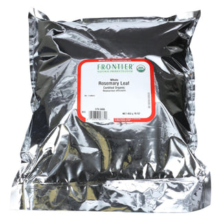 Frontier Herb Rosemary Leaf - Whole - Organic - Bulk - 1 Lb