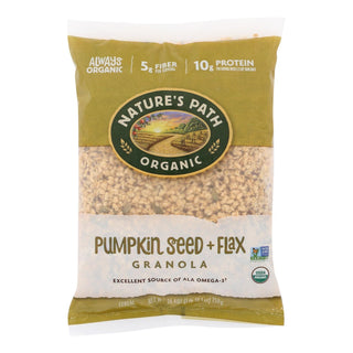 Nature's Path Organic Flax Plus Pumpkin Granola - Case Of 6 - 26.4 Oz.