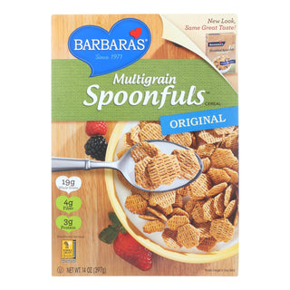 Barbara's Bakery - Spoonfuls Cereal - Multigrain - Case Of 12 - 14 Oz.