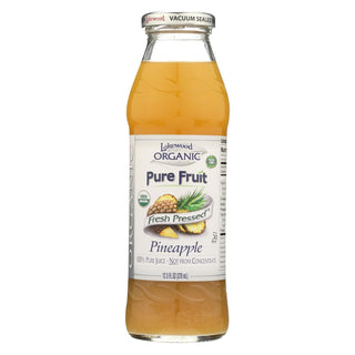 Lakewood Pineapple Juice - Pineapple - Case Of 12 - 12.5 Fl Oz.