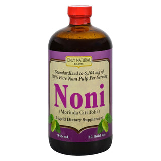 Only Natural Pure Standardized Noni - 32 Fl Oz