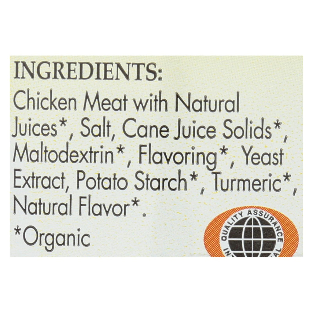 Better Than Bouillon Organic Seasoned - Chicken Base - Case Of 6 - 8 Oz.