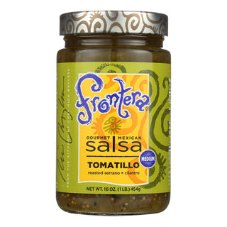 Frontera Foods Tomatillo Salsa - Tomatillo - Case Of 6 - 16 Oz.
