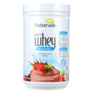 Naturade Whey Protein Booster Chocolate - 14 Oz