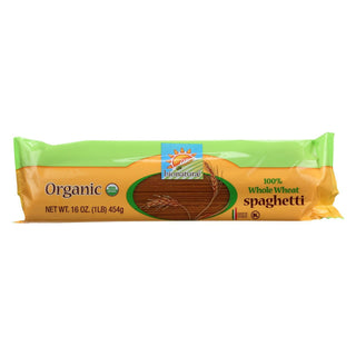 Bionaturae Pasta - Organic - 100 Percent Whole Wheat - Spaghetti - 16 Oz - Case Of 12