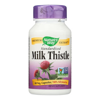 Nature's Way - Milk Thistle Standardized - 60 Capsules
