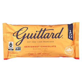 Guittard Chocolate Semi Sweet Chocolate - Case Of 12 - 12 Oz.