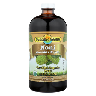 Dynamic Health Organic Certified Noni Juice - 32 Fl Oz