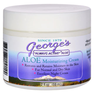 George's Aloe Vera Moisturizing Cream - 2 Oz