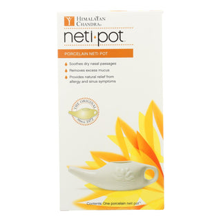 Himalayan Institute Neti Wash Ceramic Neti Pot - 1 Pot