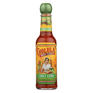 Cholula Hot Sauce - Chili Lime - Case Of 12 - 5 Fl Oz.