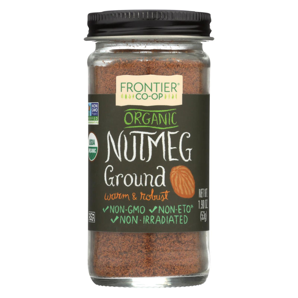 Frontier Herb Nutmeg - Organic - Ground - 1.90 Oz