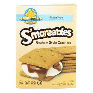 Kinnikinnick Graham Style Crackers - Case Of 6 - 8 Oz.