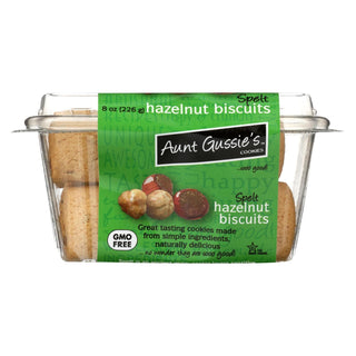 Aunt Gussie's Biscuits - Sugar Free Hazelnut - Case Of 8 - 8 Oz.