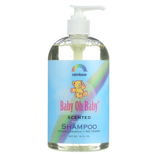 Rainbow Research Shampoo - Organic Herbal - Baby - Scented - 16 Fl Oz