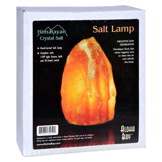 Himalayan Crystal Salt Lamp - 1 Lamp