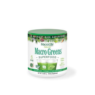 Macrolife Naturals Macro Green Superfood 6 Servings - Case Of 6 - 2 Oz