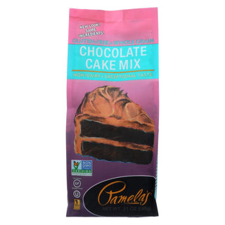 Pamela's Products - Cake Mix - Chocolate - Case Of 6 - 21 Oz.