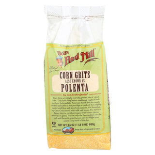 Bob's Red Mill - Corn Grits - Polenta - 24 Oz - Case Of 4