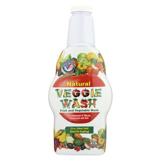 Citrus Magic All Natural Fruit And Vegetable Wash- Soaker Bottle - 32 Fl Oz