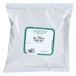 Frontier Herb Ginger Root - Powder - Ground - Bulk - 1 Lb