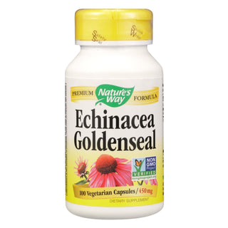 Nature's Way - Echinacea Goldenseal - 100 Capsules