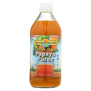 Dynamic Health Papaya Puree - 16 Fl Oz