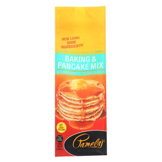 Pamela's Products - Baking And Pancake Mix - Wheat And Gluten Free - Case Of 6 - 24 Oz.