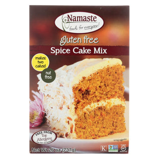 Namaste Foods Spice Carrot Cake - Mix - Case Of 6 - 26 Oz.