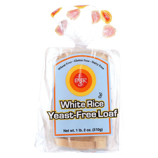 Ener-g Foods - Loaf - White Rice - Yeast-free - 19 Oz - Case Of 6