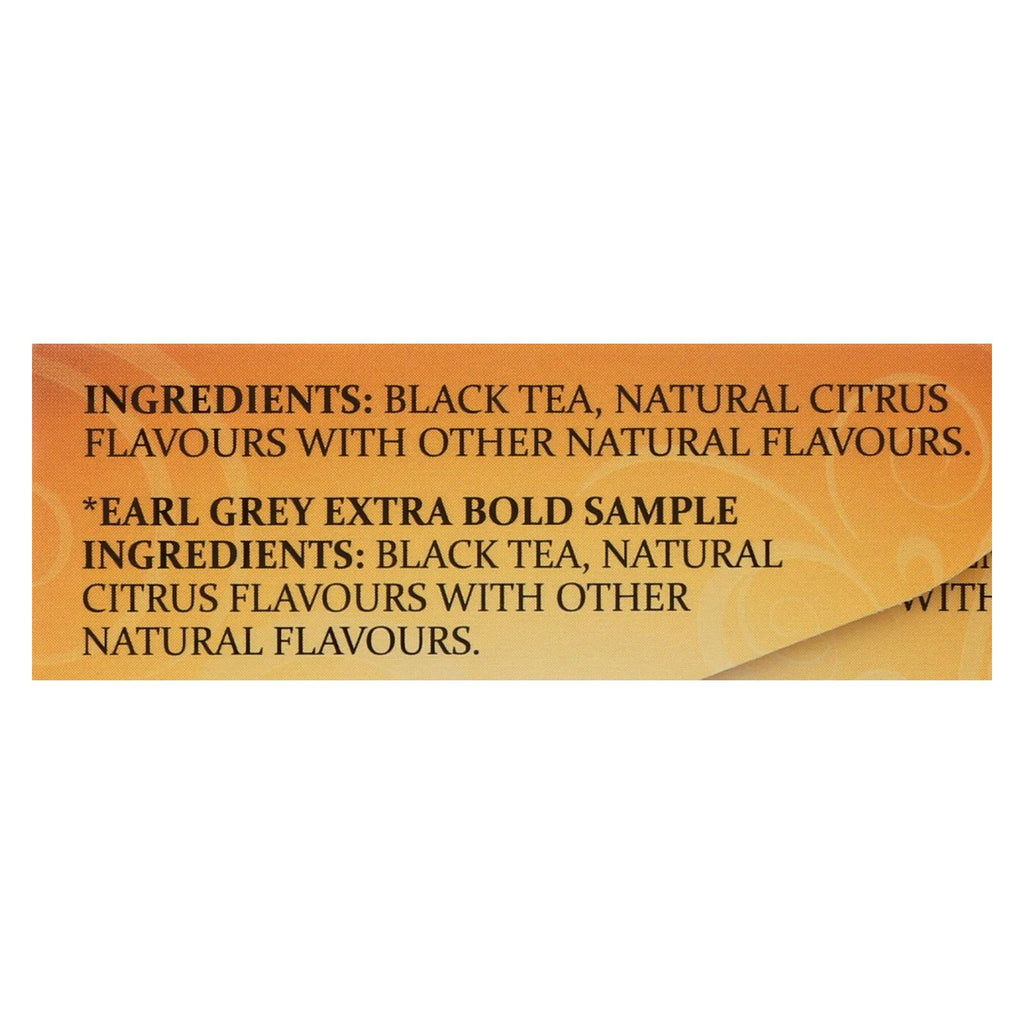 Twining's Tea Earl Grey Tea - Black Tea - Case Of 6 - 20 Bags