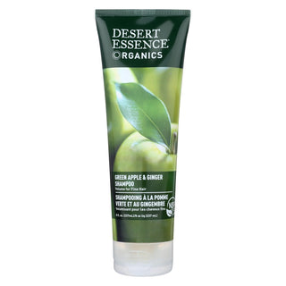 Desert Essence - Shampoo Green Apple And Ginger - 8 Fl Oz