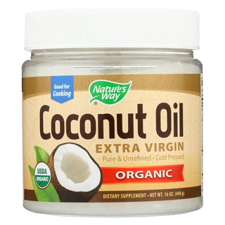 Nature's Way - Efagold Coconut Oil - 16 Fl Oz