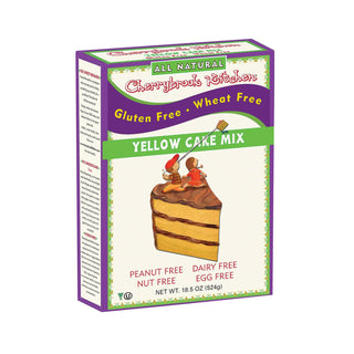 Cherrybrook Kitchen - Gluten & Wheat Free Yellow Cake Mix - Case Of 6 - 16 Oz