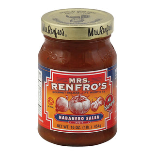 Mrs. Renfro's Habanero Salsa - Case Of 6 - 16 Oz.