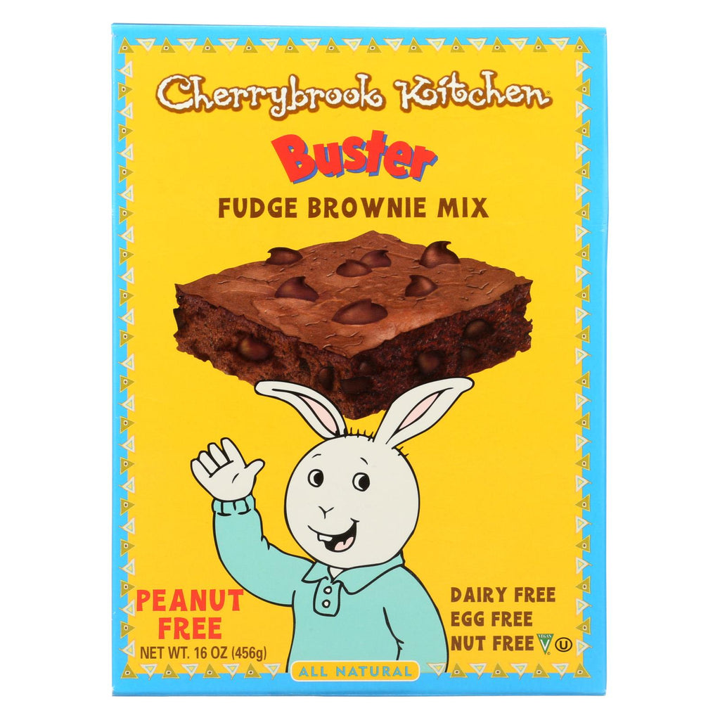 Cherrybrook Kitchen - Brownie Mix With Chocolate Chips - Case Of 6 - 16 Oz