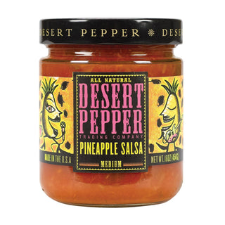 Desert Pepper Trading - Medium Pineapple Salsa - Case Of 6 - 16 Oz.