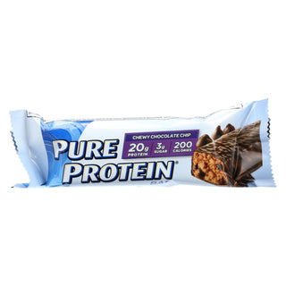 Pure Protein Bar - Chocolate Chip - Case Of 6 - 50 Grams