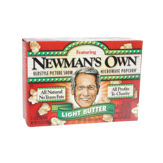 Newman's Own Organic Light Butter - Popcorn - Case Of 12 - 10.5 Oz.
