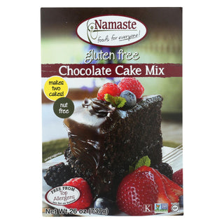 Namaste Foods Chocolate Cake - Mix - Case Of 6 - 26 Oz.