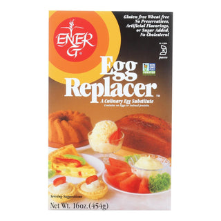 Ener-g Foods - Egg Replacer - Vegan - 16 Oz - Case Of 12