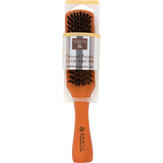 Earth Therapeutics Natural Bristle Slim Brush - 1 Brush