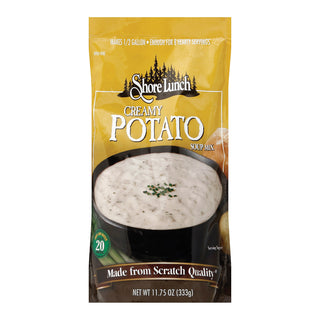 Shore Lunch Soup Mix - Creamy Potato - Case Of 6 - 11.75 Oz