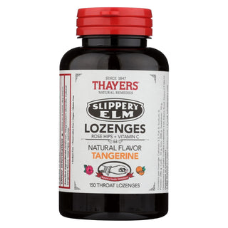 Thayers - Slippery Elm Loz Rosehips - 1 Each - 150 Ct