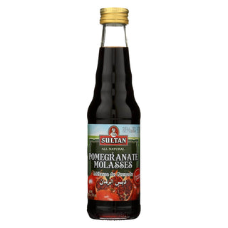 Sultan Syrup - Pomegranate - Case Of 6 - 10 Fl Oz