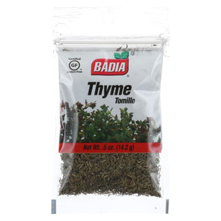 Badia Spices - Thyme Leaves - .5 Oz. - Case Of 12