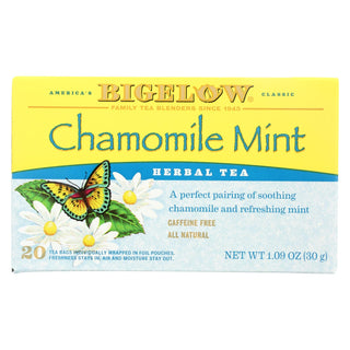 Bigelow Tea Tea - Chamomile With Mint - Case Of 6 - 20 Bag
