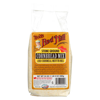 Bob's Red Mill - Cornbread Mix - Case Of 4-24 Oz