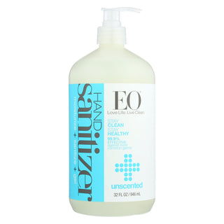 Eo Products - Hand Sanitizer Gel - Natural - Unscented - 32 Oz