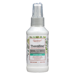 Quantum Therazinc Spray Peppermint Clove - 4 Fl Oz